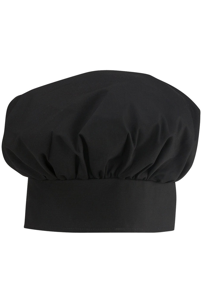 Poplin Chef's Toque - Black or White - The Chef Hat - 1