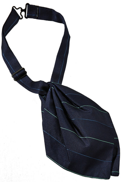 Women's Pinstripe Tulip Ascot - The Chef Hat - 1