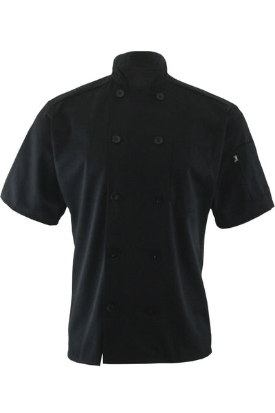 Edwards Garment 10-Button Short Sleeve Traditional Chef Coat - The Chef Hat - 2