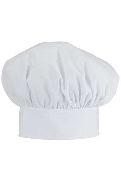 Poplin Chef's Toque - Black or White - The Chef Hat - 2