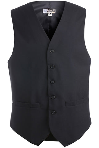 Edwards Garment Men's High Button Pocket Vest - The Chef Hat - 1