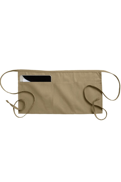 Waist Apron with 3 Section Pockets - The Chef Hat - 4