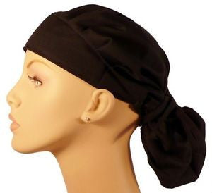Bouffant Cap w/Sweatband, Mixed Chili Peppers or Black - MADE IN THE USA! - The Chef Hat - 2