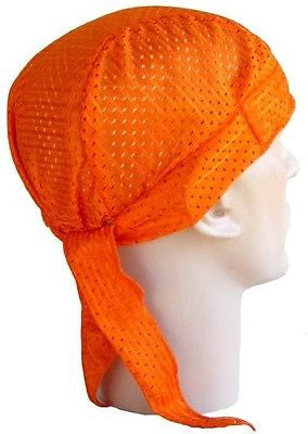 Skull Cap Breathable Mesh, Black or Orange - MADE IN THE USA! - The Chef Hat - 2