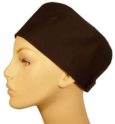Chef's Beanie Velcro Back, Black or White - MADE IN THE USA! - The Chef Hat - 1
