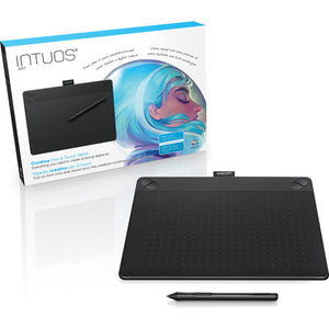 Wacom Intuos Art Pen & Touch Medium Tablet (Black) CTH690AK - CoolGraphicStuff.com