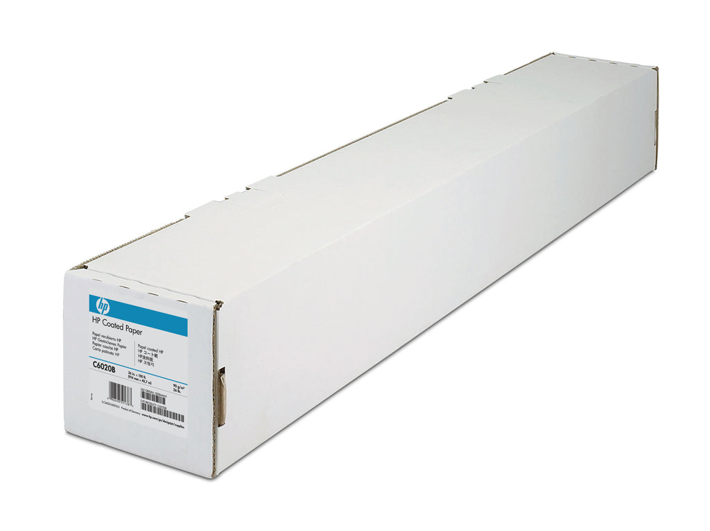 "HP Coated Paper 24"" x 150 ft - C6019B"