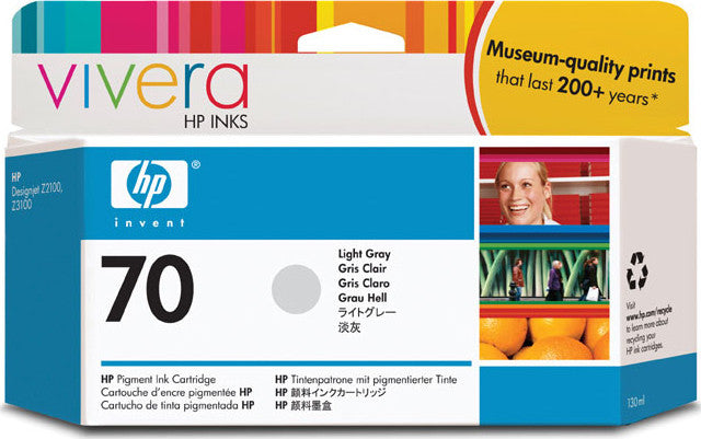 HP 70 Light Gray Ink Cartridge - C9451A