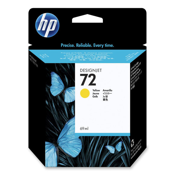 HP 72 C9400A Yellow Ink Cartridge - CoolGraphicStuff.com