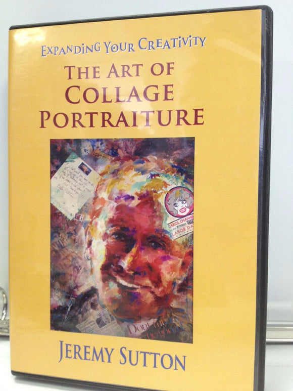 Expanding Your Creativity- The Art of Collage Portraiture DVD