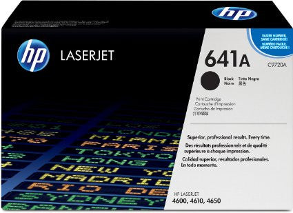 C9720A - HP - Black Toner cartridge for the Color LaserJet 4600/4650 Series