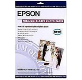 S041289 - Epson Premium Photo Glossy Paper 13 in. x 19 in., 20 sheets - CoolGraphicStuff.com