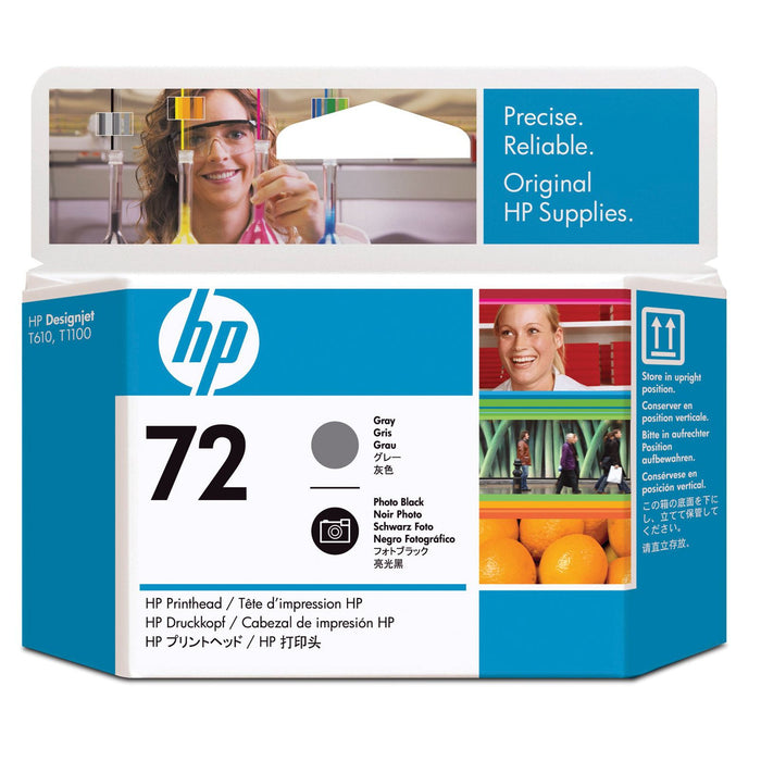 HP 72 Gray and Photo Black Printhead - C9380A