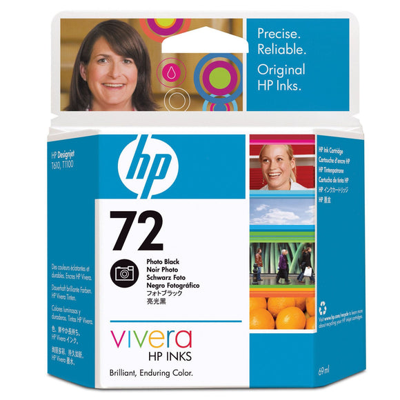 HP 72 C9397A Photo Black Ink Cartridge - CoolGraphicStuff.com