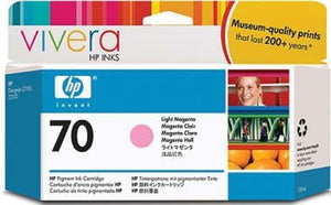 HP 70 Light Magenta Ink Cartridge - C9455A - CoolGraphicStuff.com