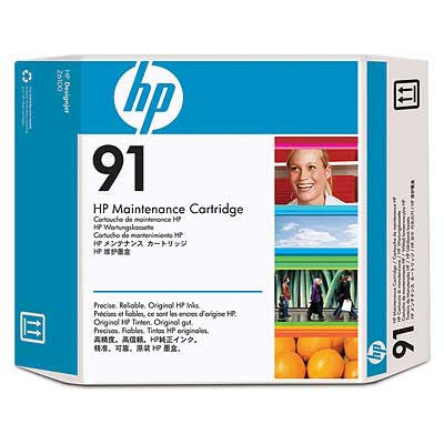 C9518A - HP No. 91 Maintenance Cartridge For DesignJet Z6100 Printers