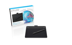 Wacom Intuos Art Creative Pen & Touch Tablet  Small (Black) CTH490AK - CoolGraphicStuff.com
