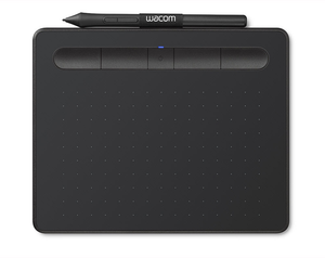 Wacom Intuos Creative Pen Tablet Black Small Box Bluetooth - 1 Year Warranty - CTL4100WLK0 - CoolGraphicStuff.com