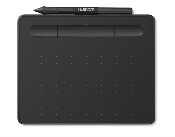 Wacom Intuos Creative Pen Tablet Black Small Box 1 Year Warranty - CTL4100 - CoolGraphicStuff.com