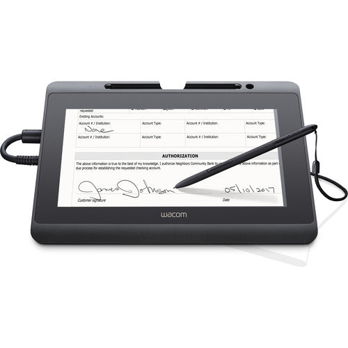 "Wacom DTH-1152, 10.1"" Widescreen, HD Interactive Pen and Touch Display, DTH1152 - CoolGraphicStuff.com"