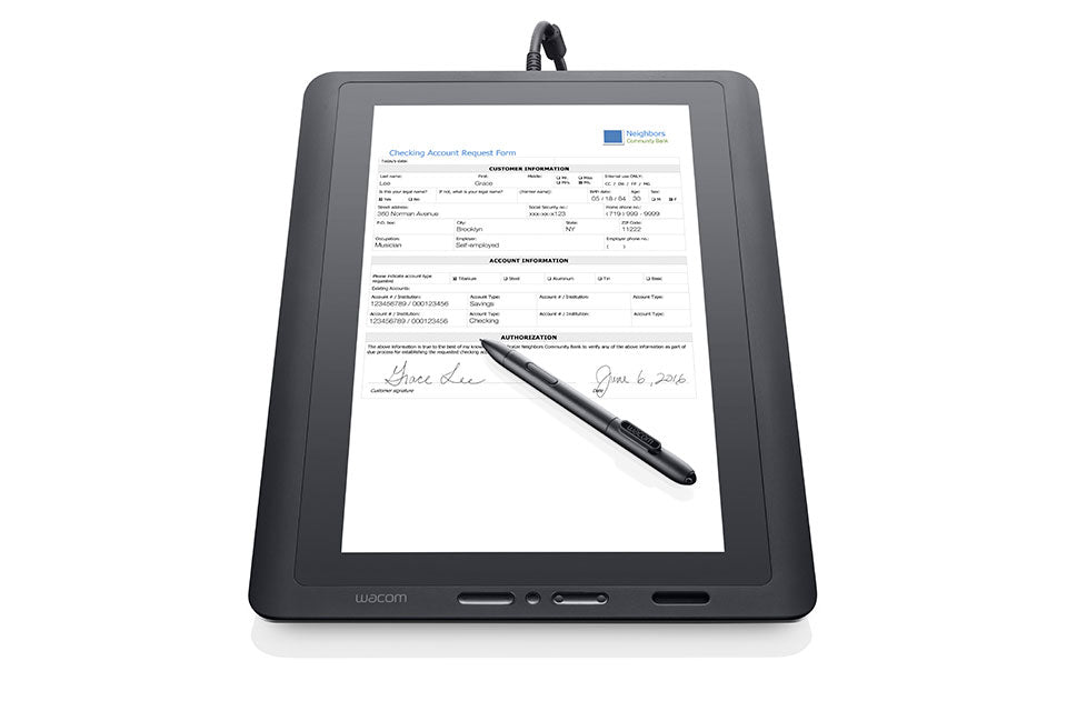 "Wacom DTK-1651, 15.6"" Widescreen, HD Interactive Pen Display,  DTK1651"