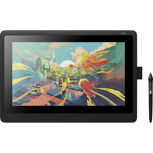 Wacom Cintiq 16HD Creative Pen Display - DTK1660K0A - CoolGraphicStuff.com