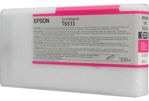 Epson UltraChrome Ink for the Epson Stylus Pro 4900 Inkjet Printer (Vivid Magenta, 200ml)