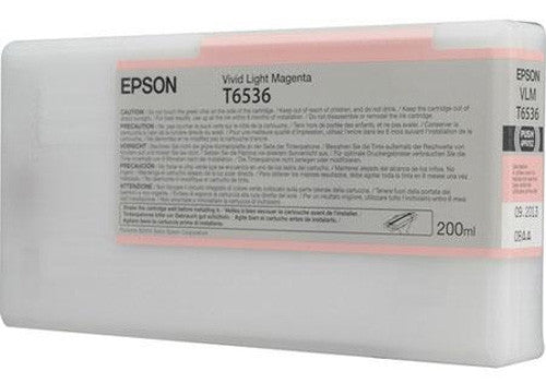Epson UltraChrome Ink for the Epson Stylus Pro 4900 Inkjet Printer (Vivid Light Magenta, 200ml) - CoolGraphicStuff.com