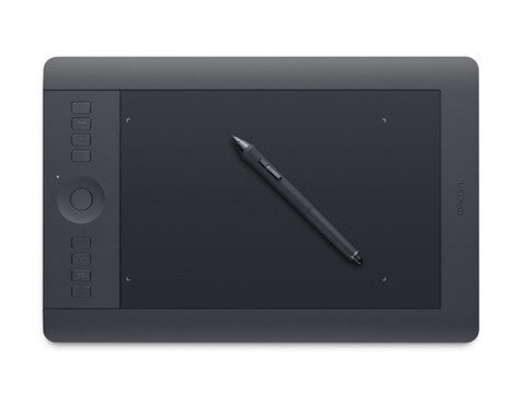 Wacom Intuos Pro - Professional Pen & Touch Tablet - Medium - PTH651 - CoolGraphicStuff.com