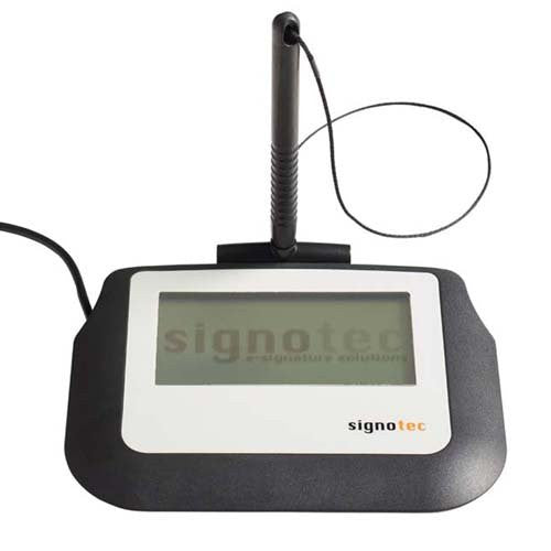 Signotec - MetaDolce Sigma LCD Signature Tablet without Backlight  FTDI-USB with 2 meter cable - ST-ME105-2-FT100 - CoolGraphicStuff.com