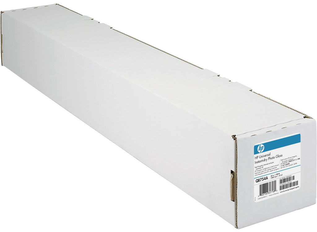 "HP Universal Instant-dry Gloss Photo Paper 36"" x 100ft - Q6575A"