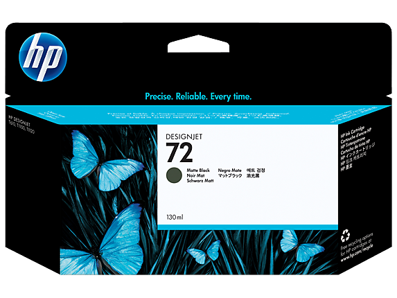HP 72 C9403A Matte Black Ink Cartridge - CoolGraphicStuff.com