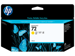 HP 72 C9373A Yellow Ink Cartridge - CoolGraphicStuff.com