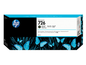 HP 726 Matte Black Ink Cartridge - CH575A - CoolGraphicStuff.com