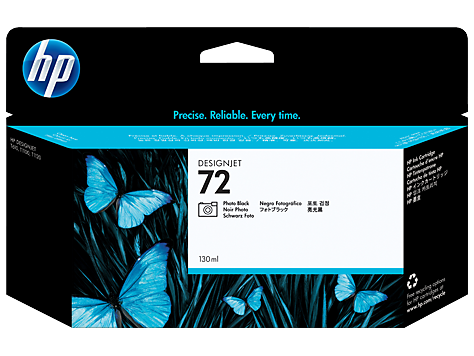 HP 72 C9370A Photo Black Ink Cartridge - CoolGraphicStuff.com