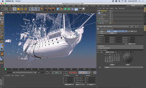 Maxon CINEMA 4D Studio - Competitive Discount for Gov't/Non-Profit/3D Users: C4DSB-N - Latest Version Software - CoolGraphicStuff.com