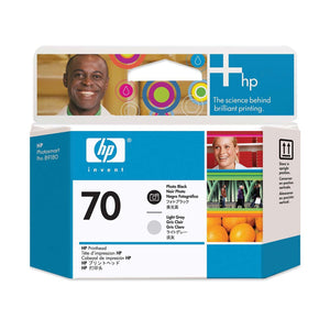 HP 70 Photo Black and Light Gray Printhead - C9407A - CoolGraphicStuff.com