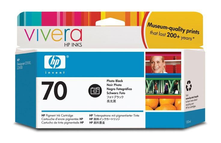 HP 70 Photo Black Ink Cartridge - C9449A
