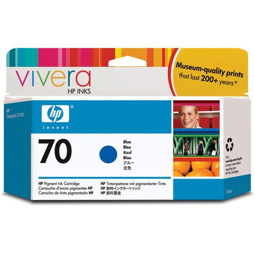 HP 70 Blue Ink Cartridge - C9458A
