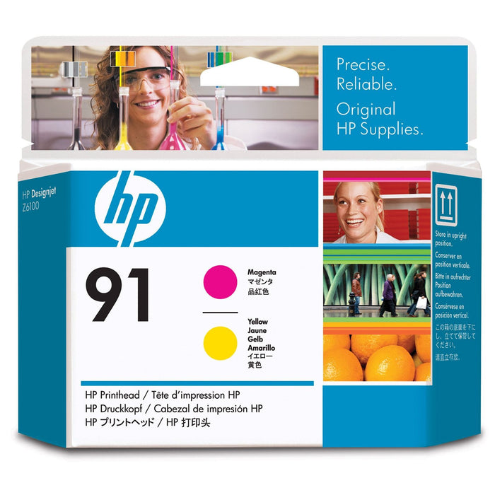 HP 91 Magenta and Yellow Printhead - C9461A