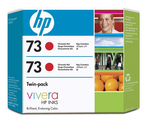 HP 70 CD952A Chromatic Red Twin Pack - 2 x CD951A