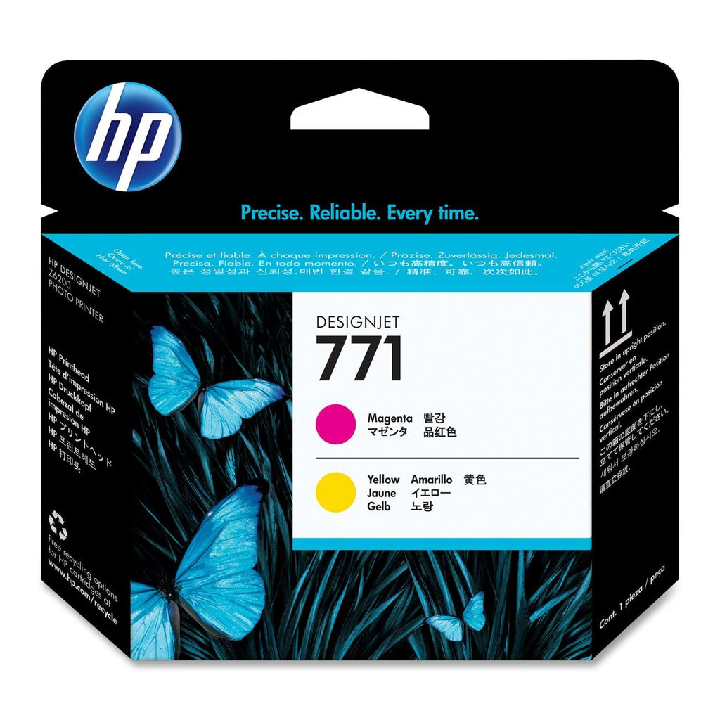 HP 771 Magenta, Yellow Printheads - CE018A