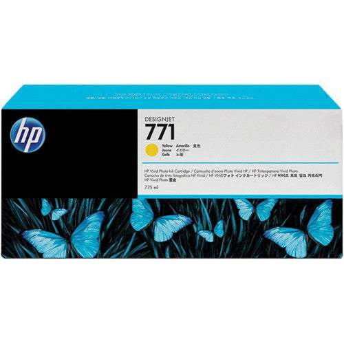 HP 771 Yellow Ink Cartridge - CE040A