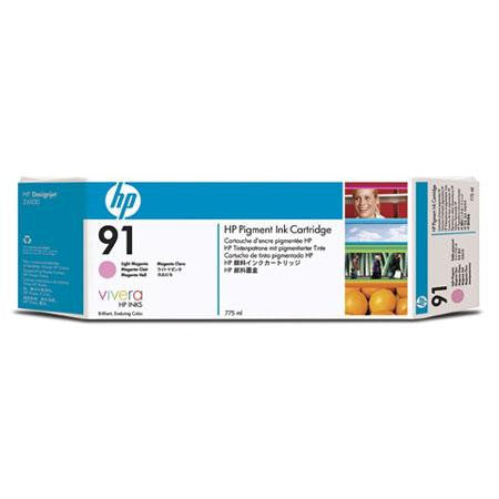 C9471A - HP 91 775-ml Pigment Light Magenta Ink Cartridge for the HP Designjet Z6100 Printer, HP Designjet Z6100PS Printer - CoolGraphicStuff.com