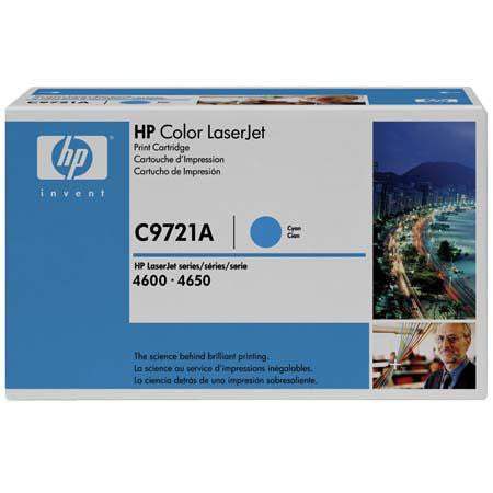 C9721A - HP - Cyan Toner cartridge for Color LaserJet 4600/4650 Series - CoolGraphicStuff.com