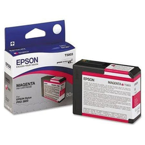 T580300 - Epson Stylus Pro 3800 - 80ml Magenta UltraChrome K3 Ink Cartridge - CoolGraphicStuff.com