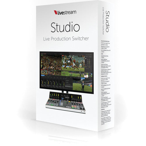 Livestream Studio Software - CoolGraphicStuff.com