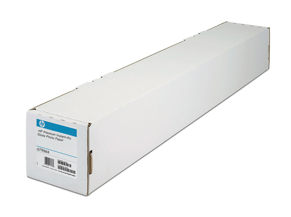 Q7999A - HP Premium Instant Dry Glossy Photo Paper, 60 in. x 100 ft. Roll