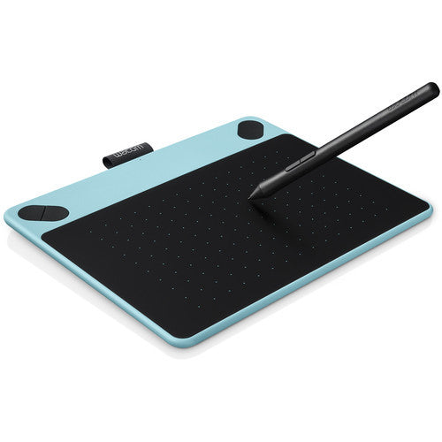 Wacom Intuos Draw Pen Small Tablet (Mint Blue) CTL490DB