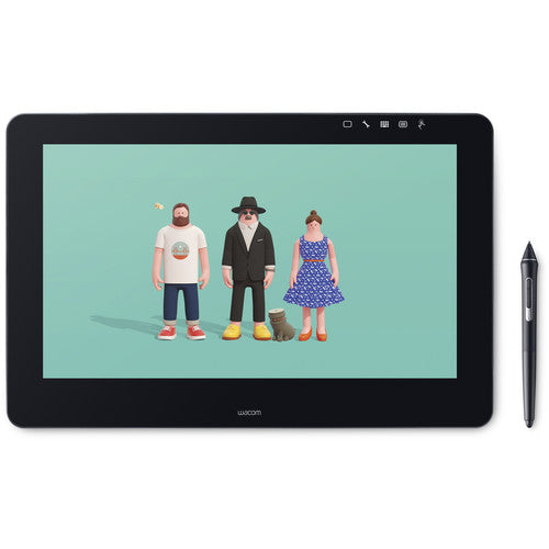 Wacom Cintiq Pro 16 Creative Pen & Touch Display (DTH1620AK0) - CoolGraphicStuff.com